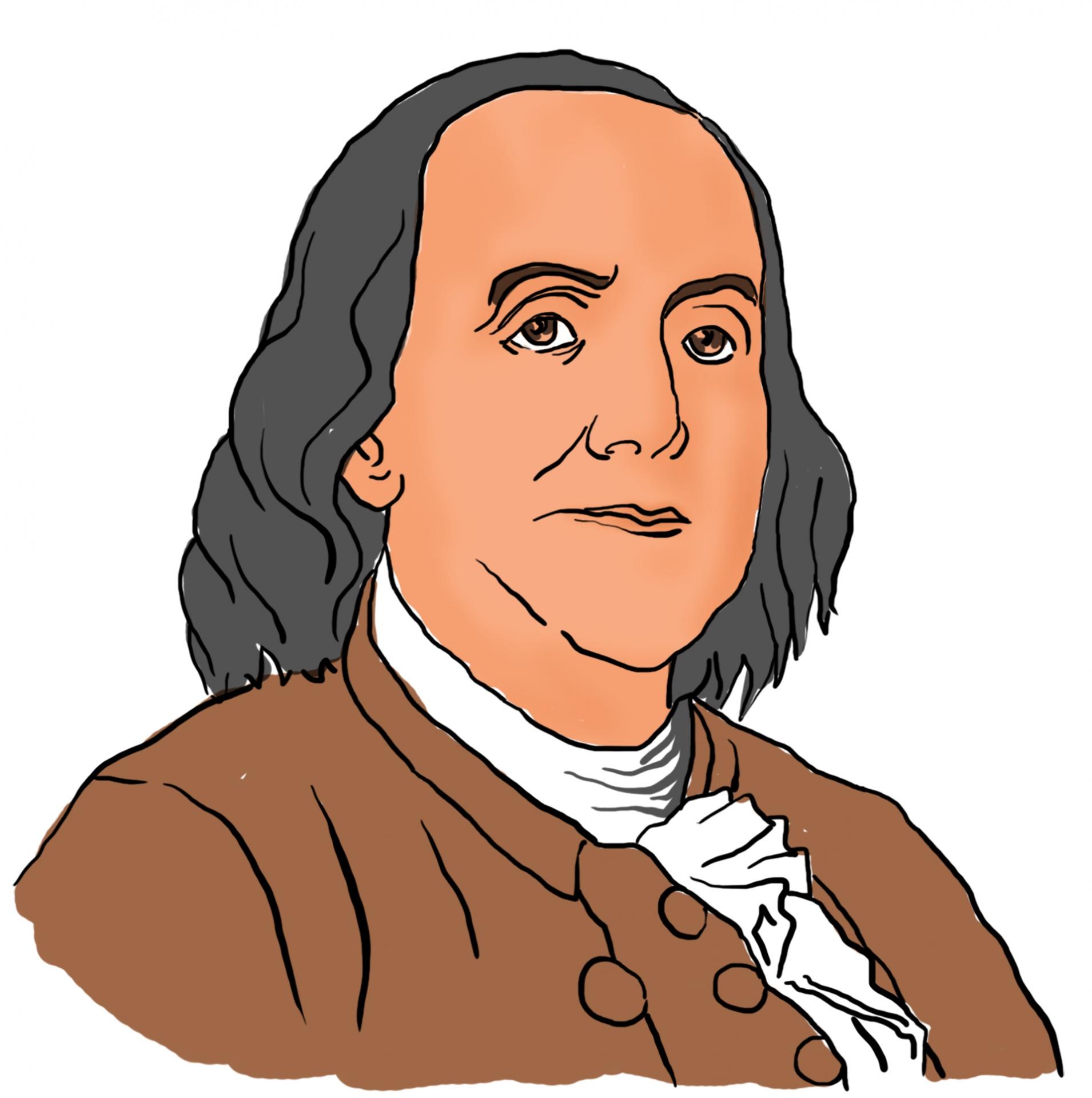 Benjamin Franklin Drawing At Getdrawings
