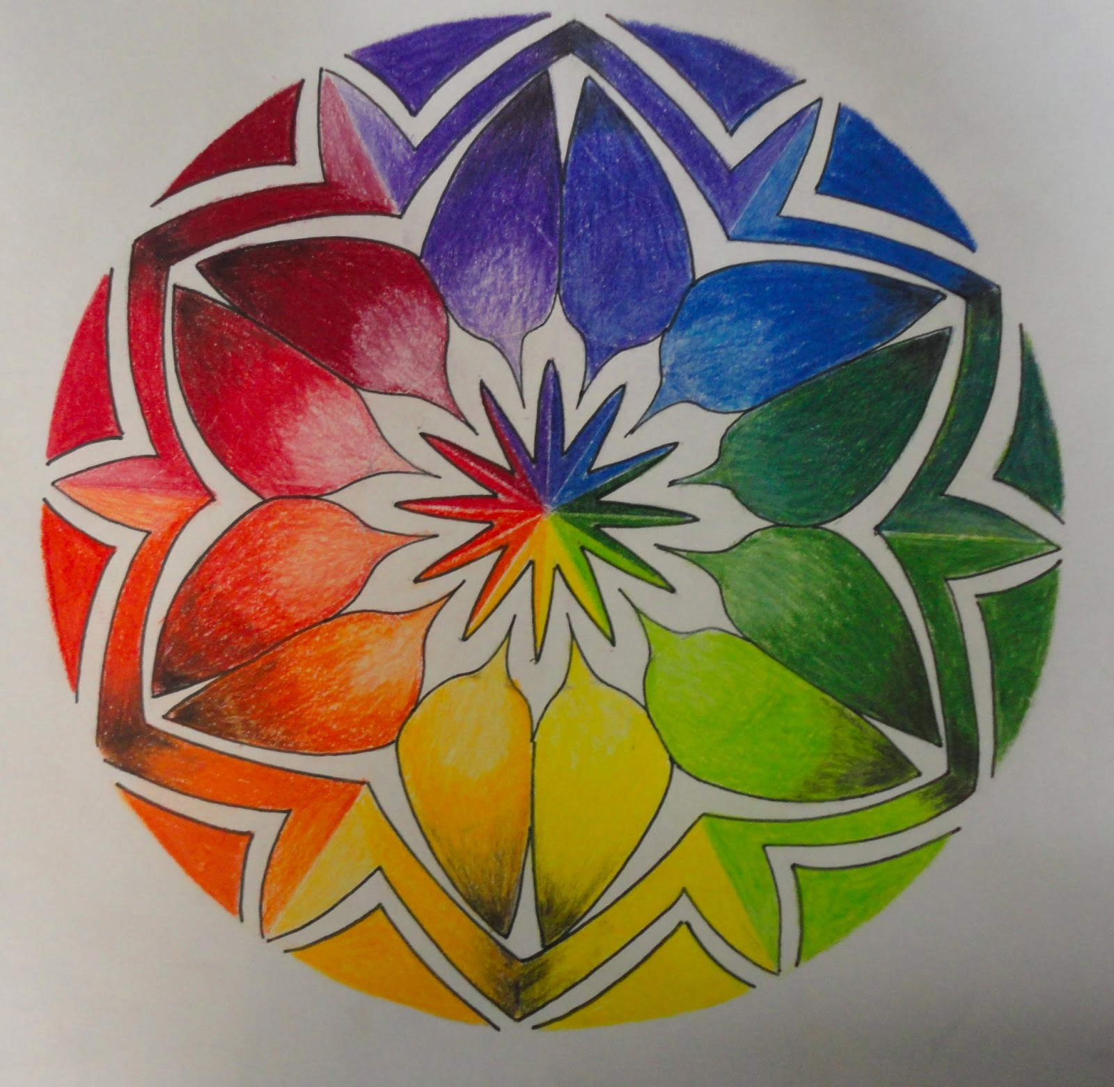 Color Wheel Drawing At Getdrawings
