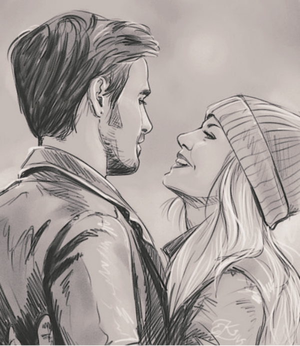 Couple Drawing Sketch At Free For