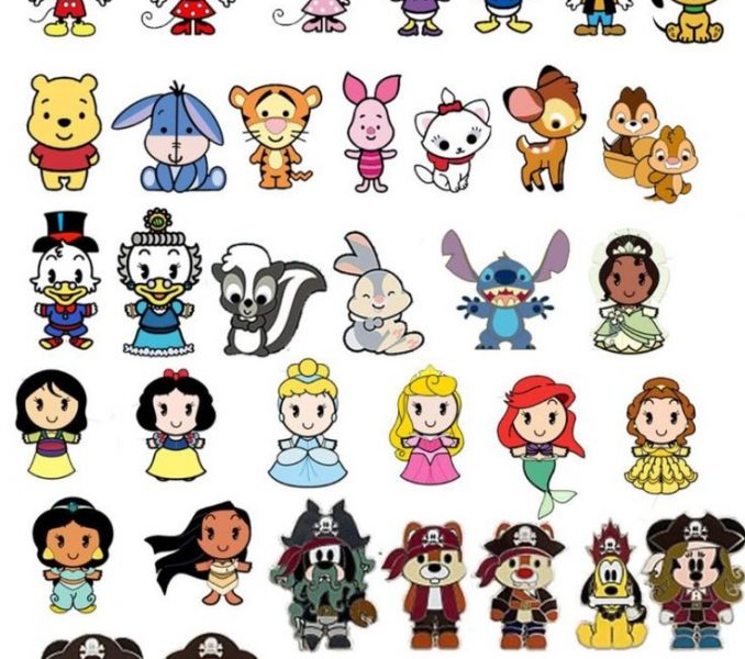 Cute cartoon characters images