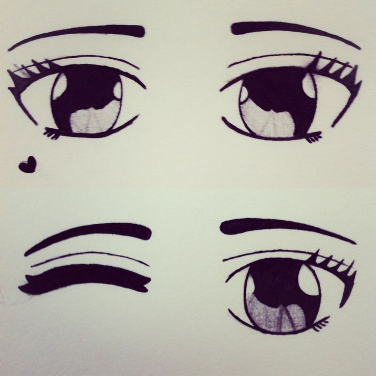 Drawings Eyes Cute Ideas