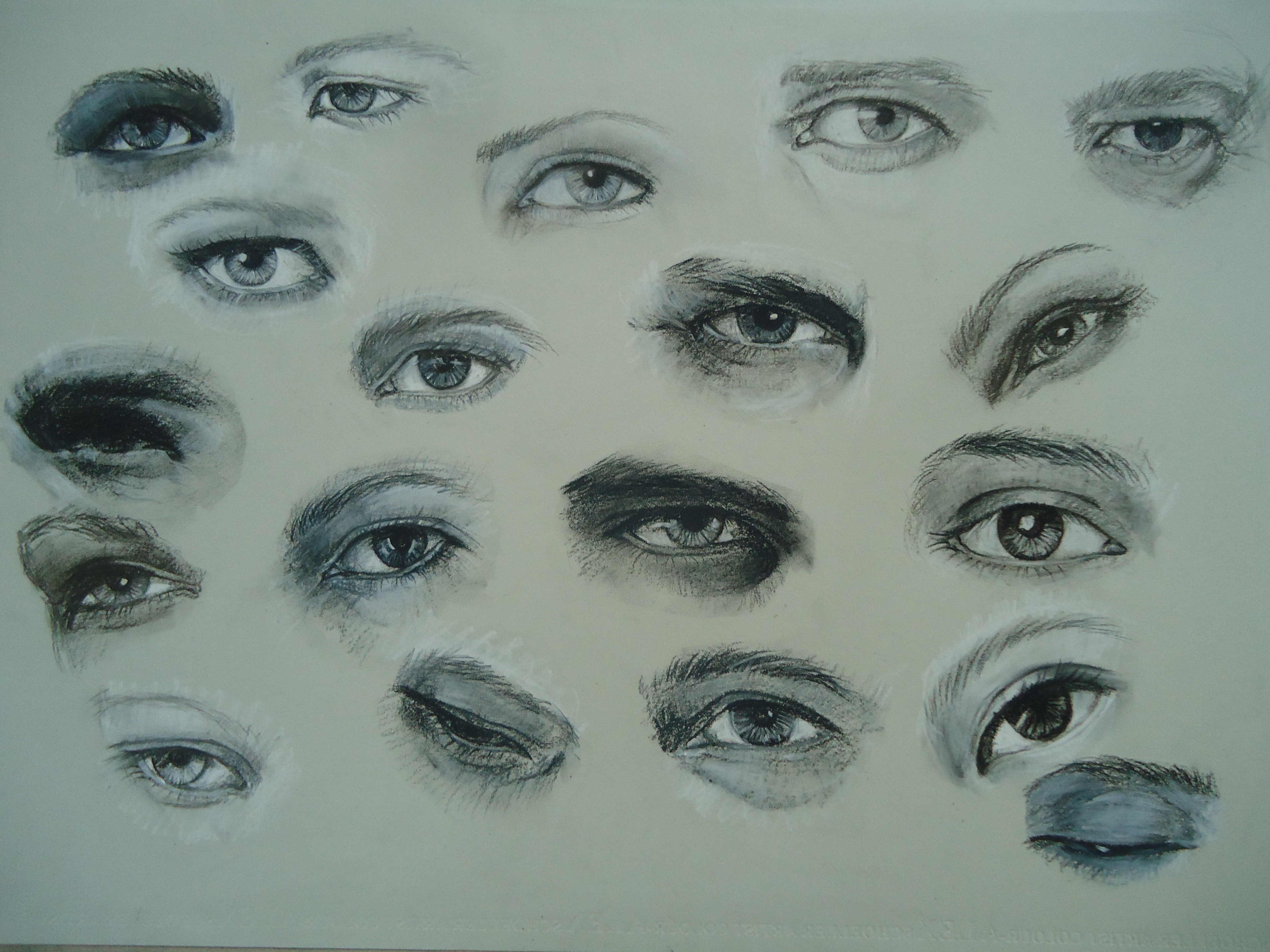 Different Types Of Eyes Drawing At Getdrawings