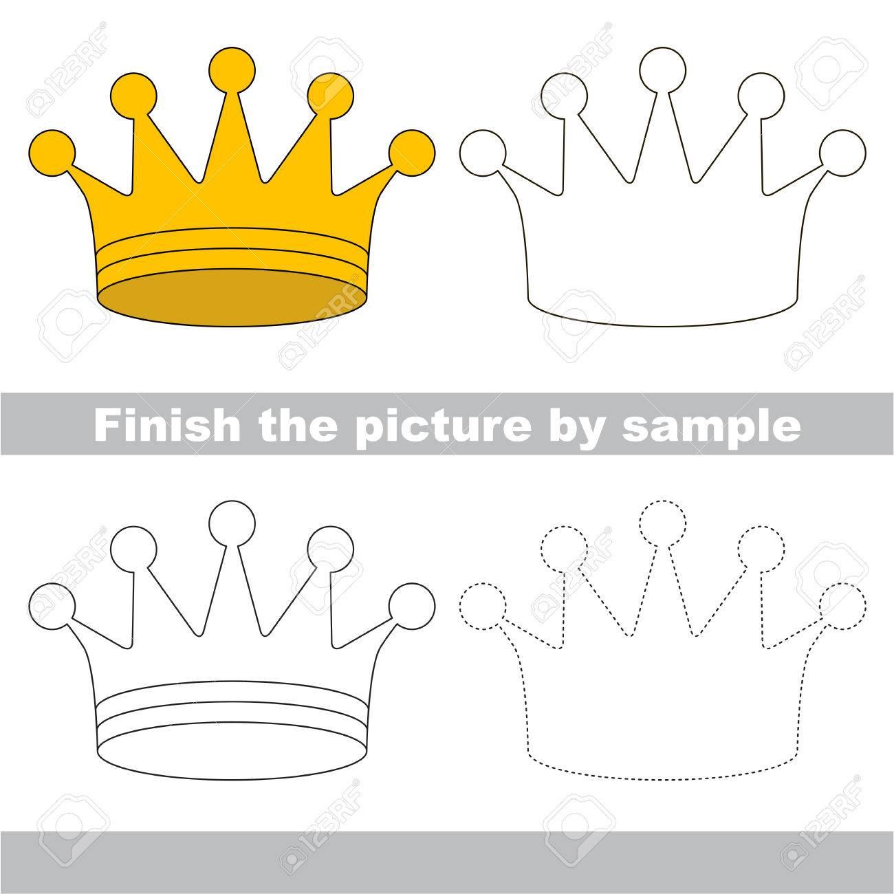 Easy Crown Drawing At Getdrawings