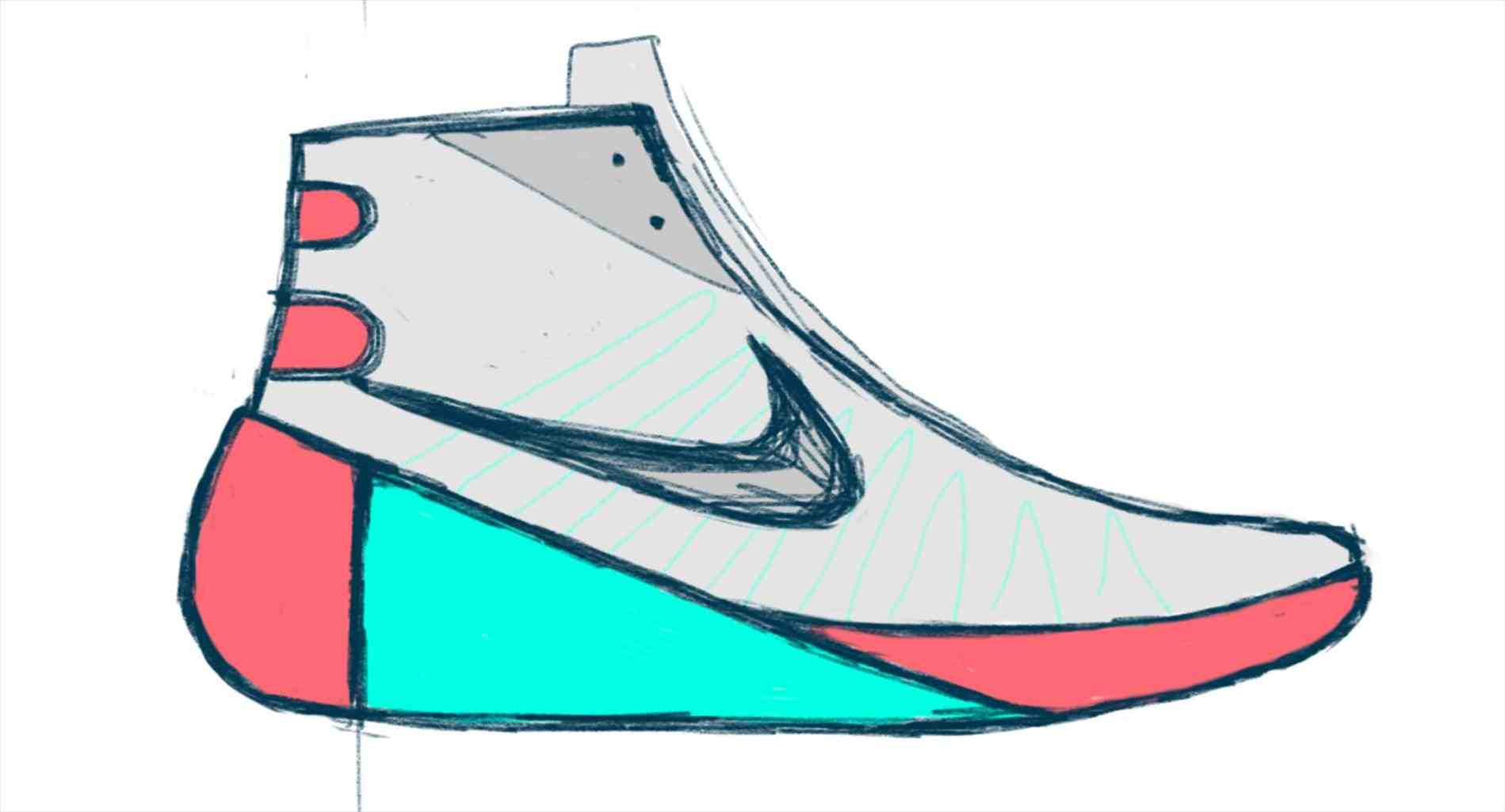 Easy Shoe Drawing At Getdrawings