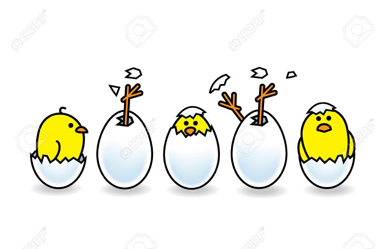 Egg Hatching Drawing At Getdrawings