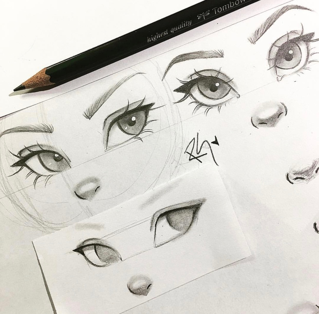 Worksheet Drawing Eyes Nose And Lips