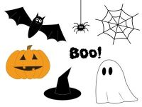 images of halloween stuff to draw