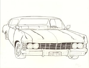 Impala Drawing at GetDrawings   Free for personal use
