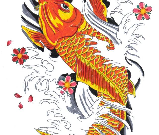 X Colorful Koi Fish Tattoo Designs Japanese Koi Fish Drawings Koi