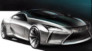 Lexus Drawing at GetDrawings | Free for personal use Lexus Drawing of your choice