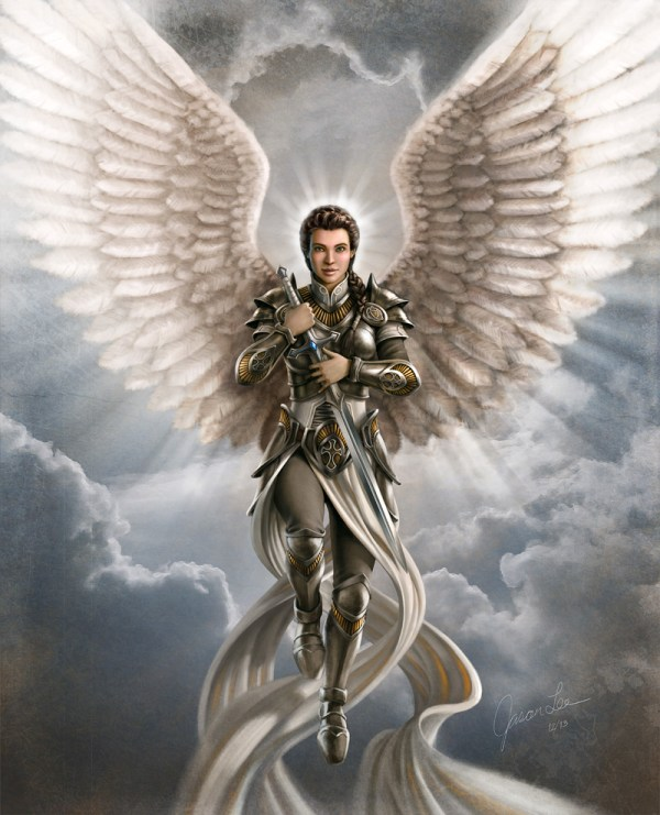 Male Guardian Angel Drawing at GetDrawings.com | Free for ...