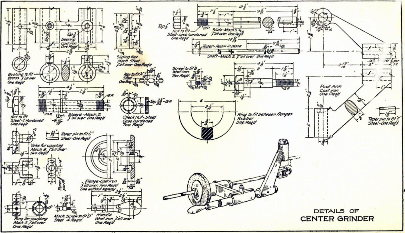 Mechanical Drawing At Getdrawings