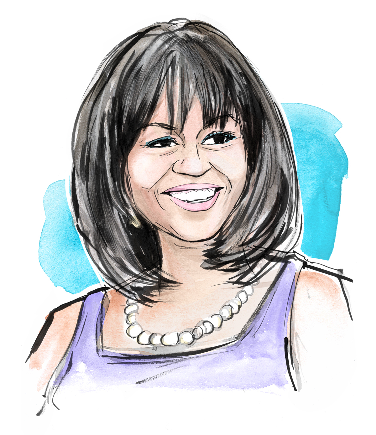 Michelle Obama Drawing At Getdrawings