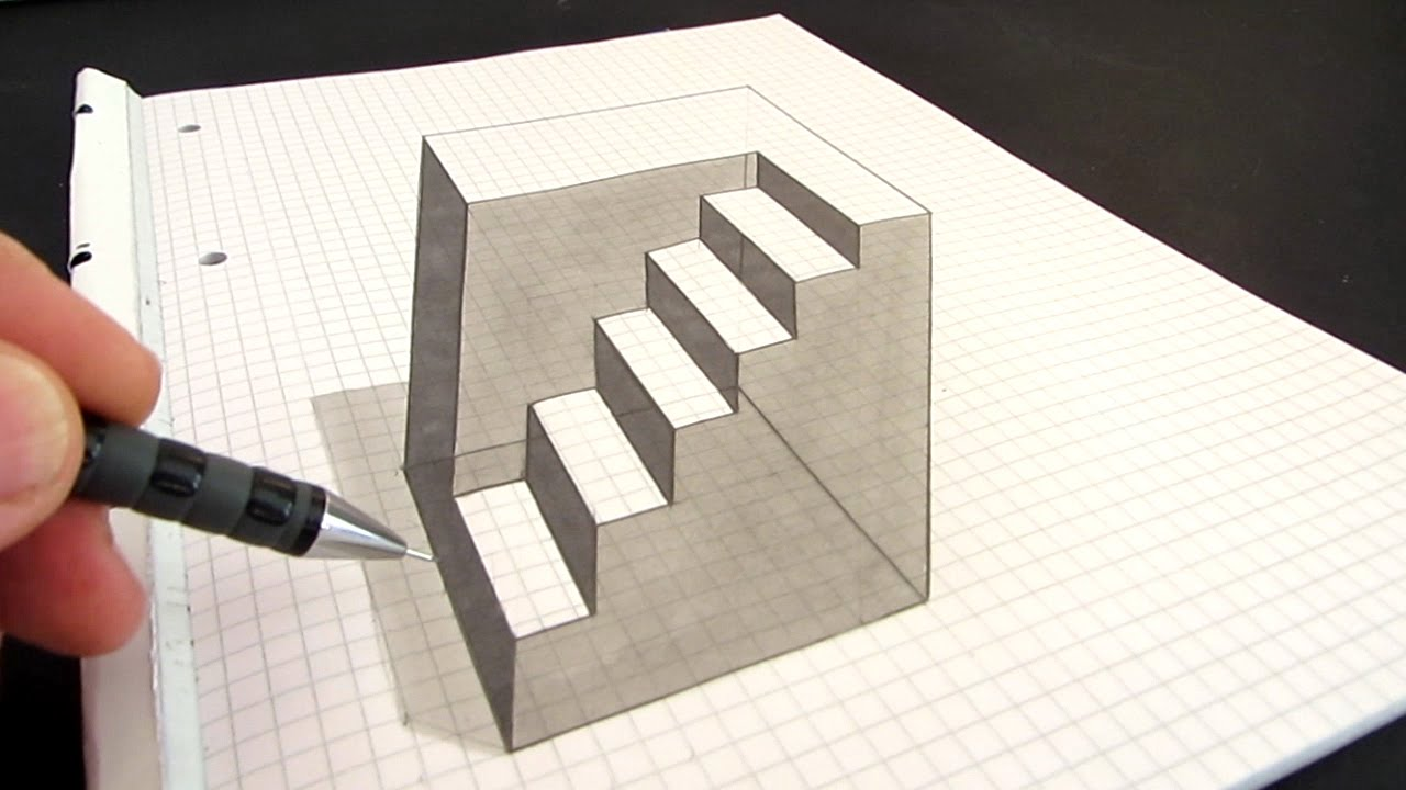 Optical Illusion Drawing At Free For