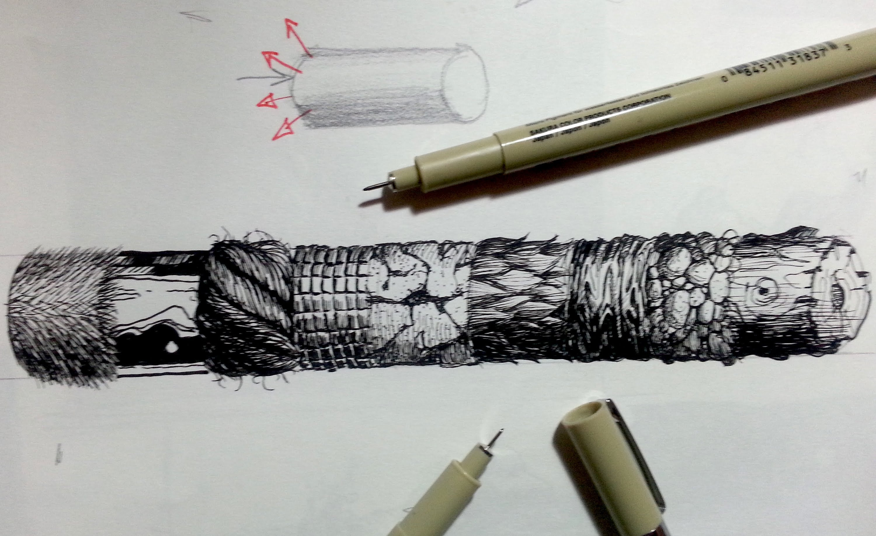 Pen And Ink Drawing Tutorials At Getdrawings
