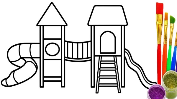 playground coloring pages # 47