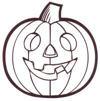 halloween templates to colour