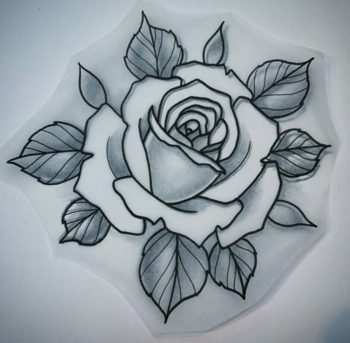 How To Draw A Rose Traditional Anexa Tutorial