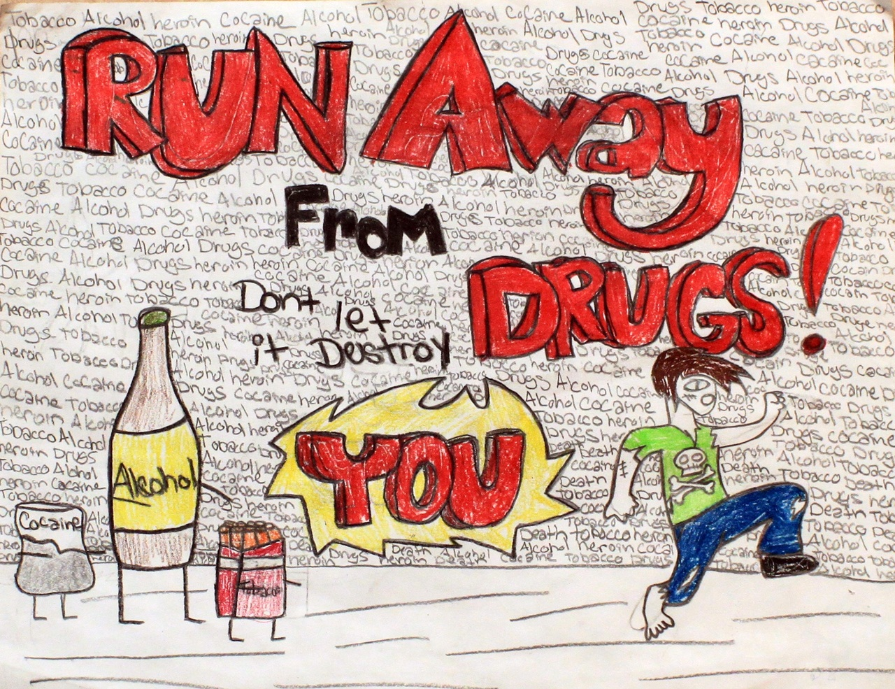 Say No To Drugs Drawing At Getdrawings