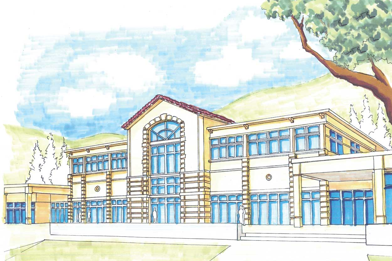 School Building Drawing At Getdrawings