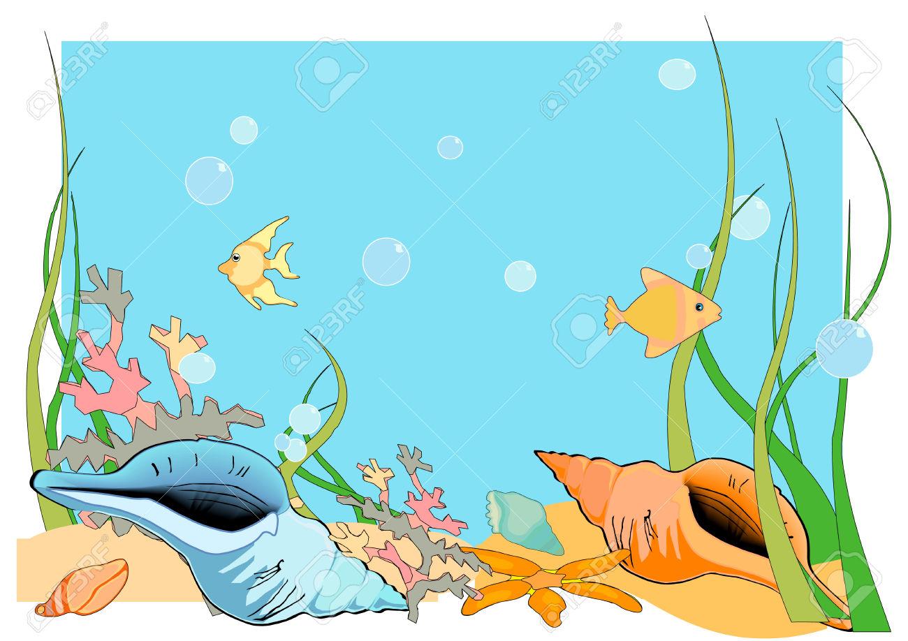 Sea Floor Drawing At Getdrawings