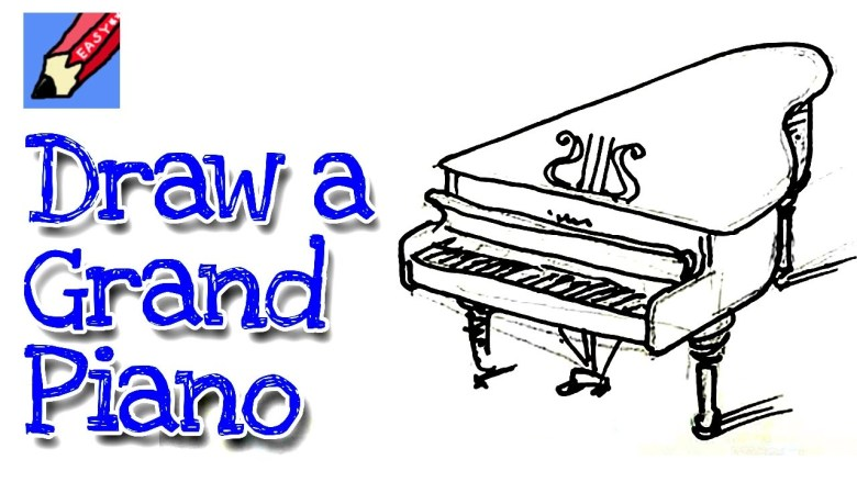 simple piano drawing at getdrawings | free for personal use