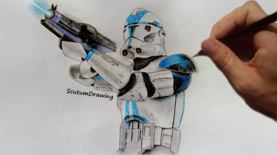 Star Wars Clone Trooper Drawing at GetDrawings com   Free for     Star Wars Amino  1366x768 Clonetrooper