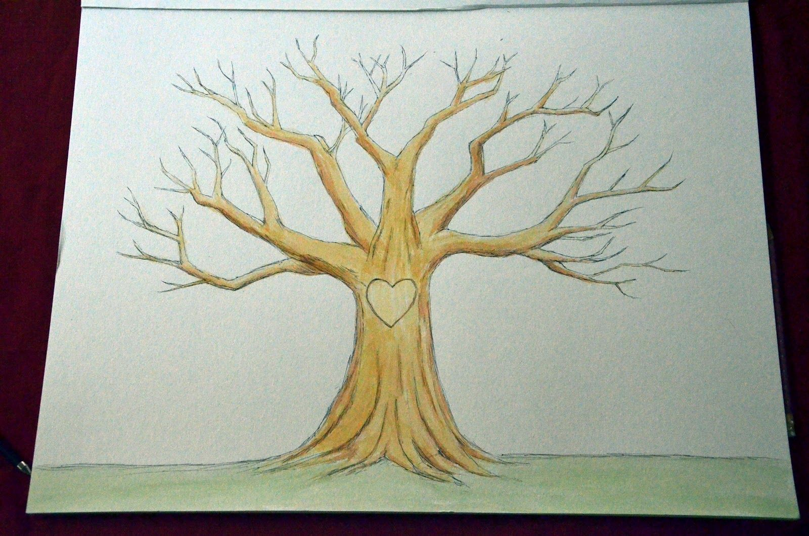 Tree Drawing Without Leaves At Getdrawings