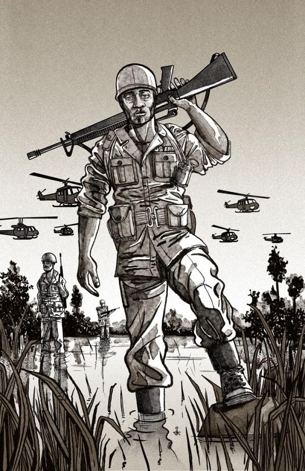 Vietnam Soldier Drawing at GetDrawings   Free download