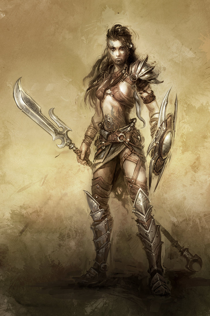 Viking Women Warriors Tattoos