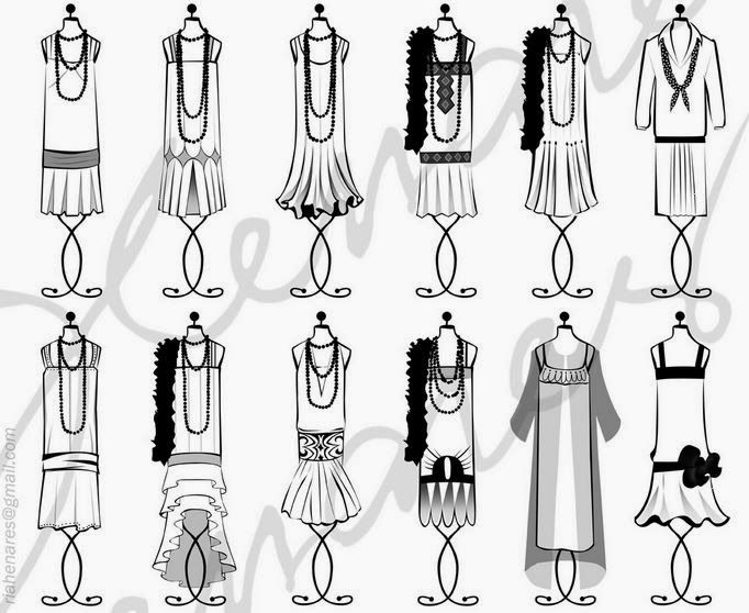 1920s Flapper Drawing at GetDrawings   Free download