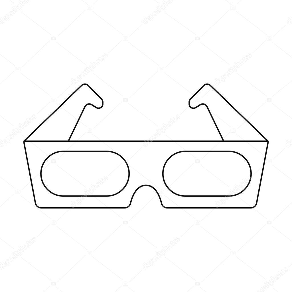 3d Glasses Drawing At Getdrawings