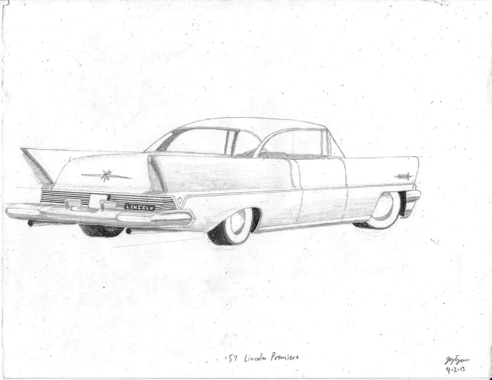 57 Chevy Drawing At Getdrawings