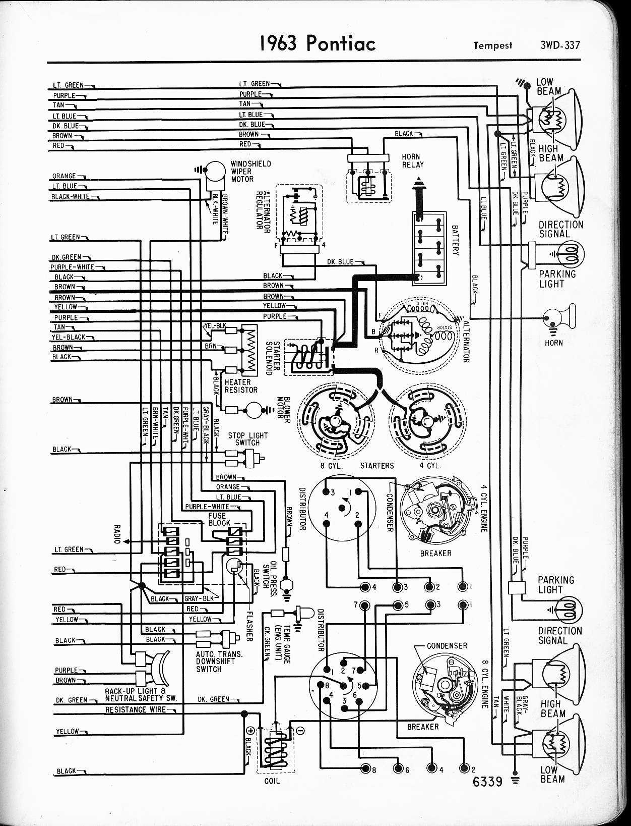 Impala Tail Light Wiring Diagram