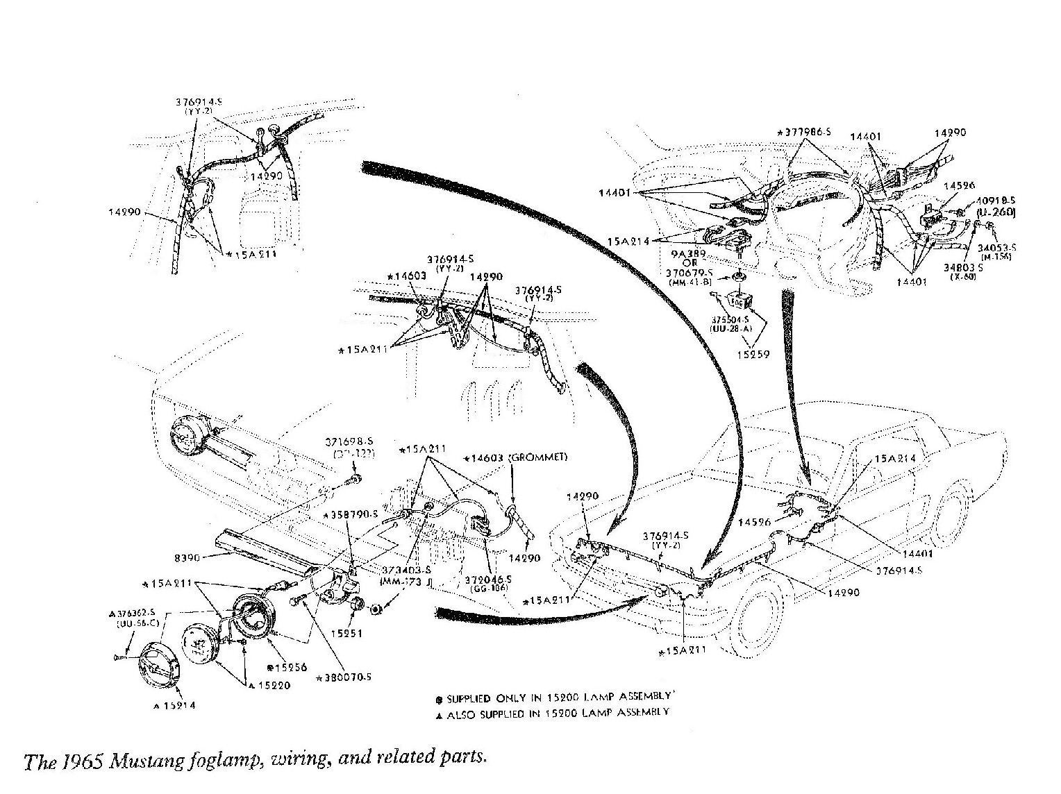 Wrg Ford Mustang Steering Column Wiring Diagram