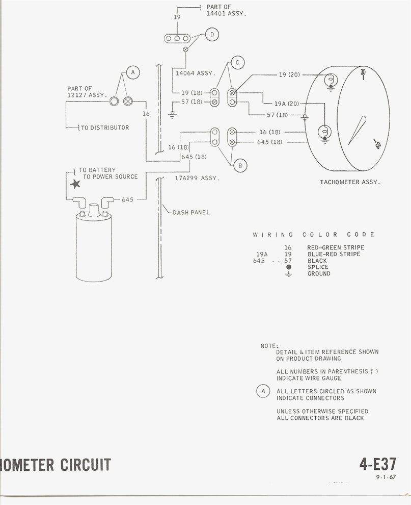 807x990 images of wiring diagrams 68 mustang tachometer 1967 mustang