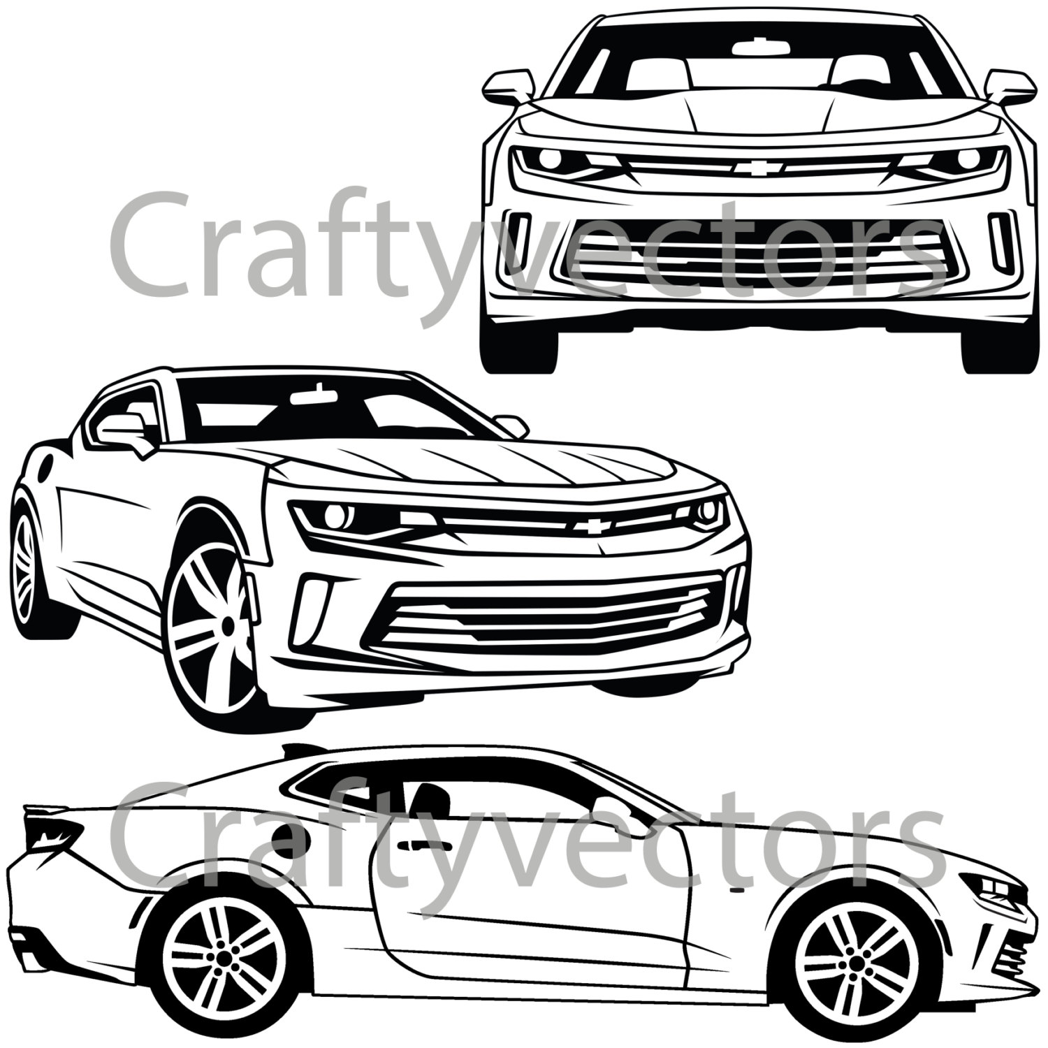 68 Camaro Drawing At Getdrawings