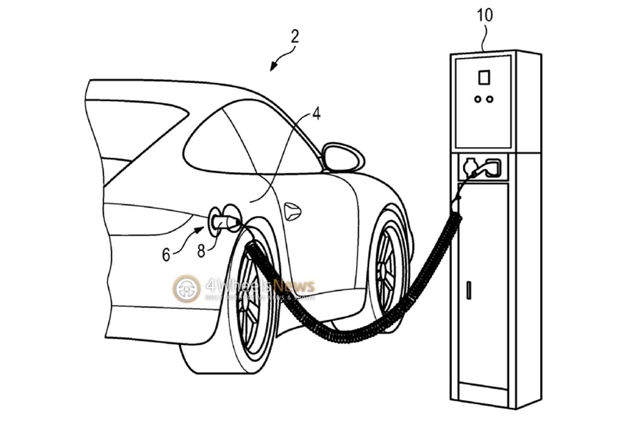 1280x861 is this a porsche 911 hybrid revealing patent drawing
