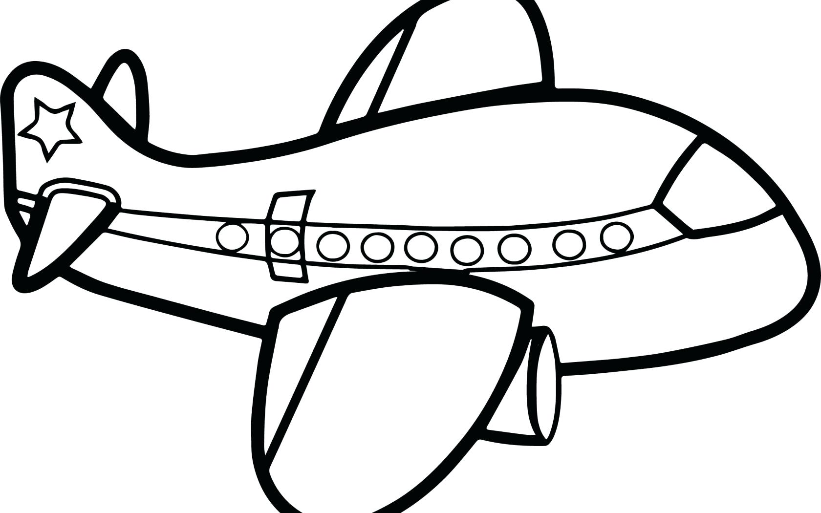 Aeroplane Drawing For Kids At Getdrawings
