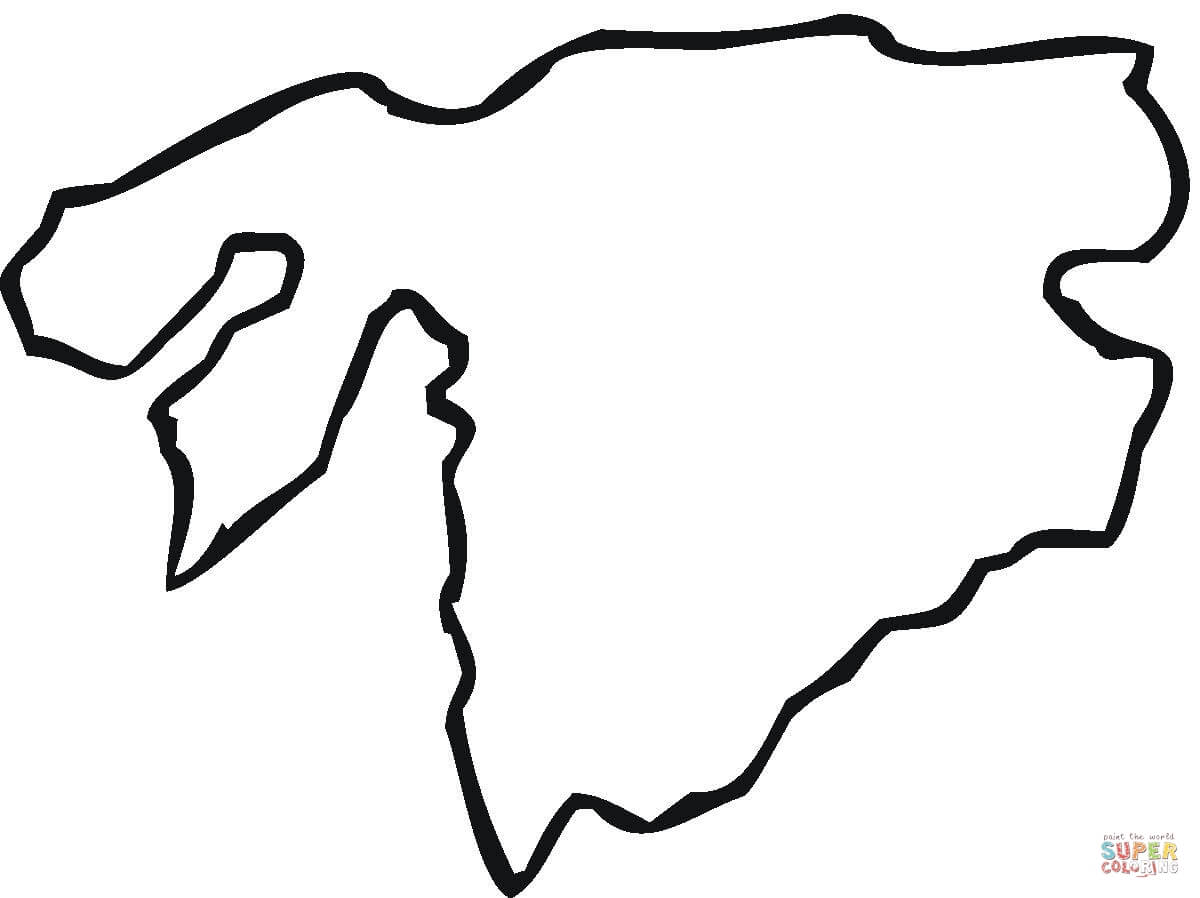 Africa Map Drawing At Getdrawings