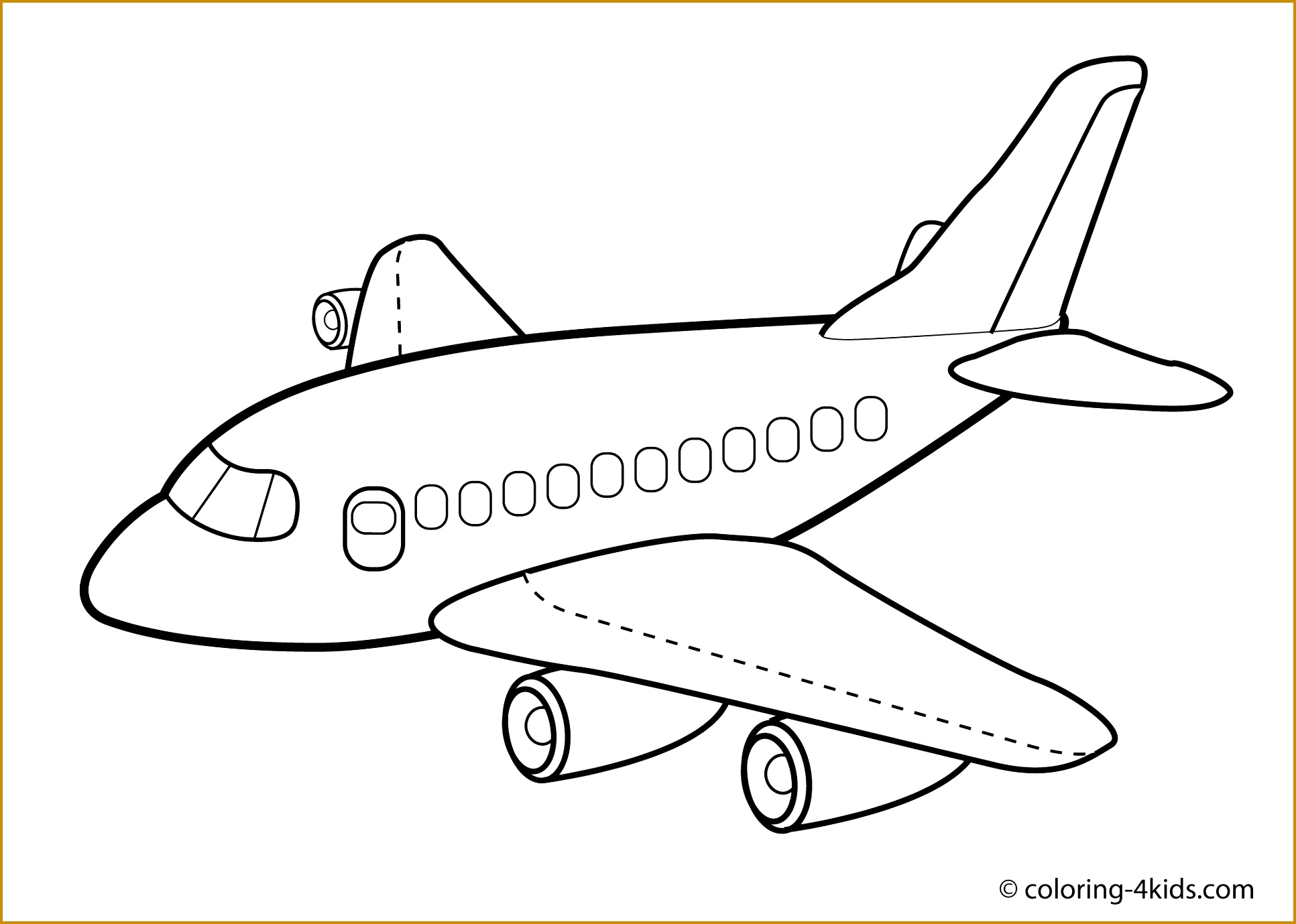 Paper Airplane Drawing At Getdrawings