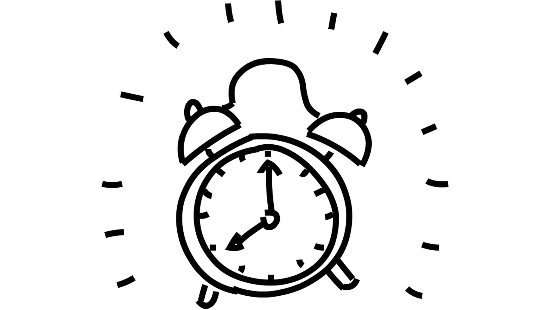 Alarm Clock Drawing At Getdrawings