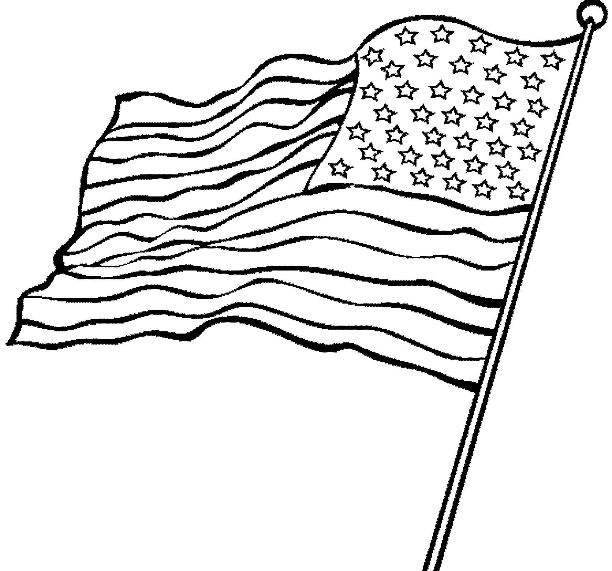 American Flag Pencil Drawing At Getdrawings