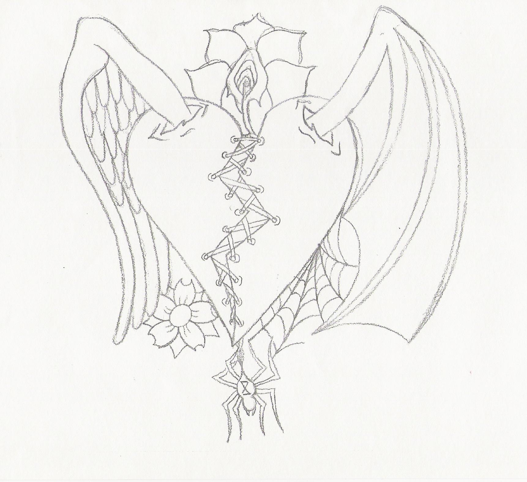 Angel Drawing Tattoos At Getdrawings