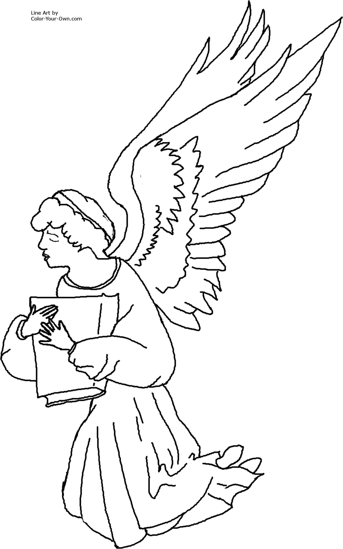 Angel Praying Drawing At Getdrawings