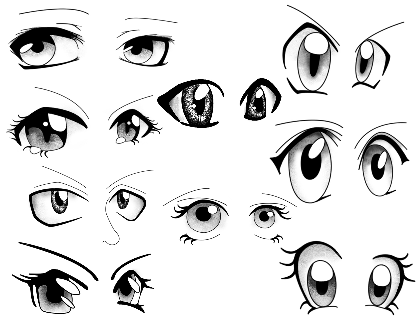 Anime Eyes Drawing at GetDrawings com   Free for personal use Anime     1650x1275 Cartoon Eyes Drawing How To Draw Anime Eyes  Stepstep  Anime Eyes