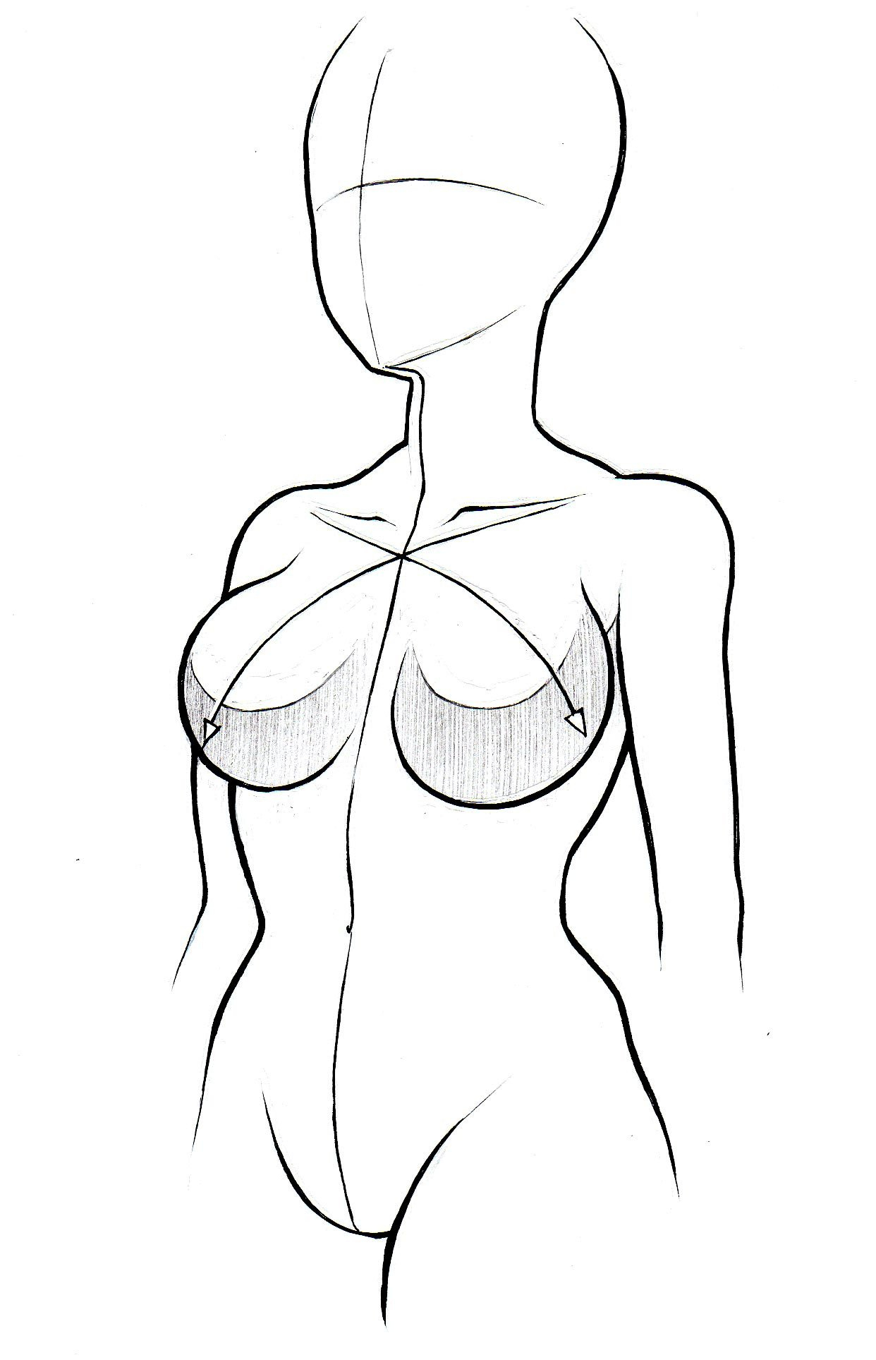 Anime Girl Drawing Body At Getdrawings