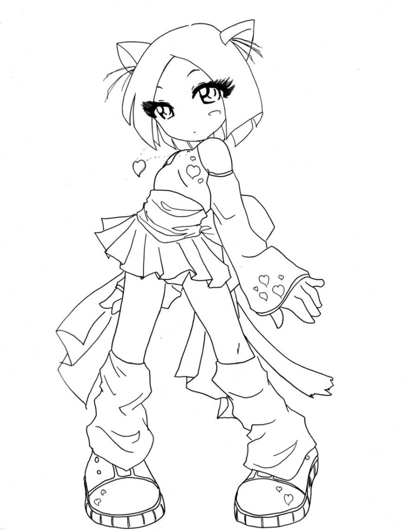 anime warrior girl drawing at getdrawings  free download