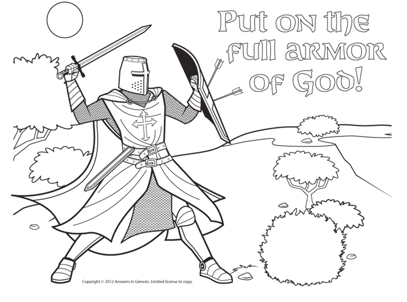 Armor Of God Drawing At Getdrawings