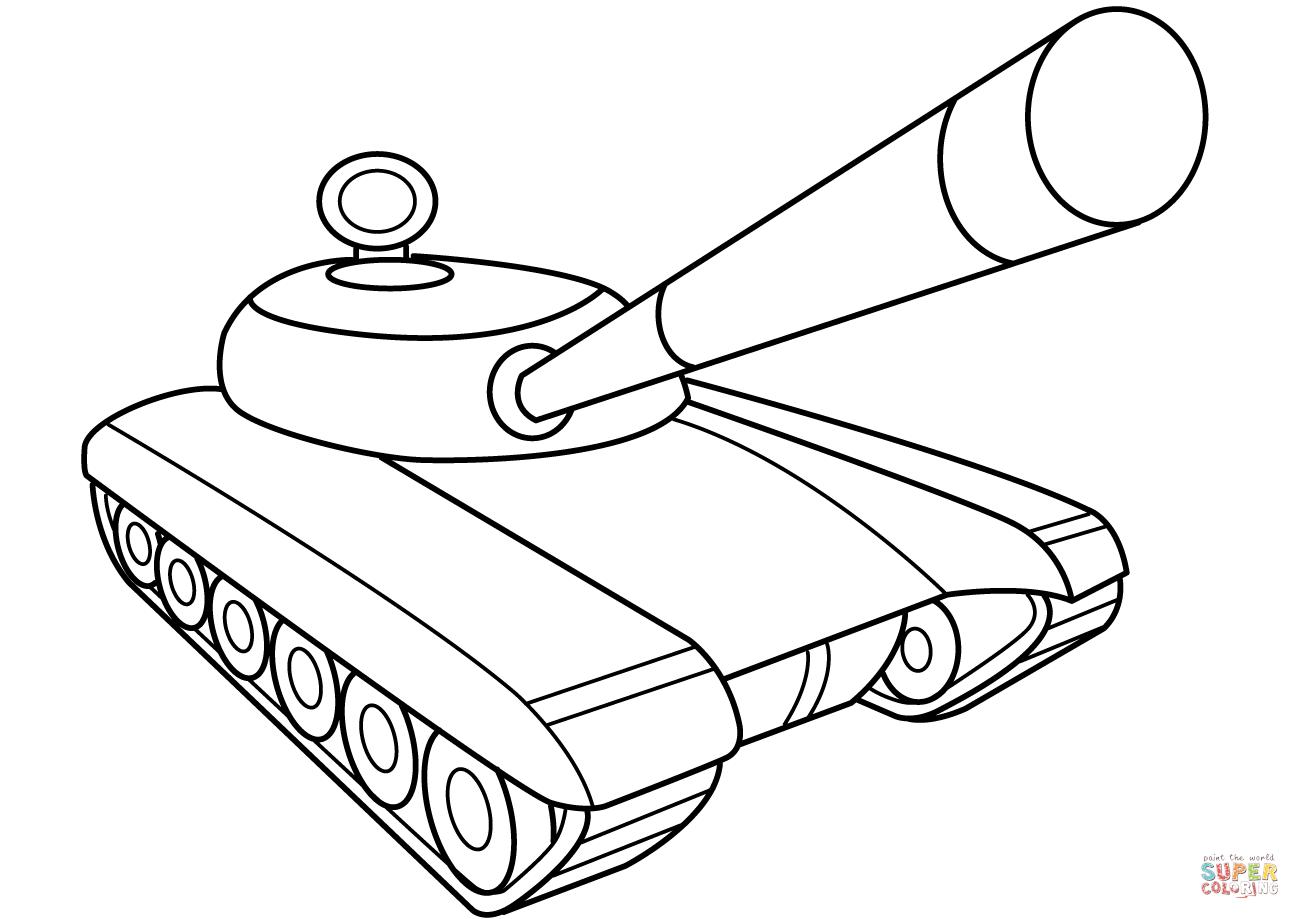Army Tank Drawing At Getdrawings